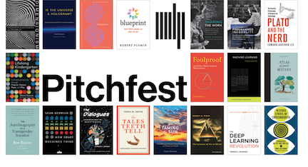MIT Press Pitchfest: I'm a Finalist!
