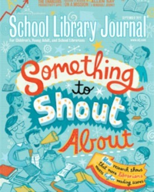 What's Hot in YA? School Library Journal puts Drawing Amanda on the list!